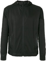 Drome zip up jacket - men - Leather/Polyamide - XL