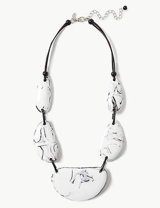 M&S Collection Pebble Collar Necklace