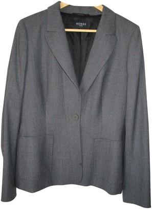 Hobbs Grey Wool Jacket for Women