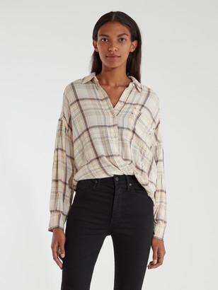 Free People Hidden Valley Button Down Shirt