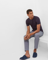 Cotton T-shirt And Trousers Pyjama Set