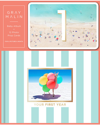 Gray Malin Baby Album with 12 Photo Prop Cards