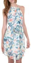 Gala Floral Halter Dress