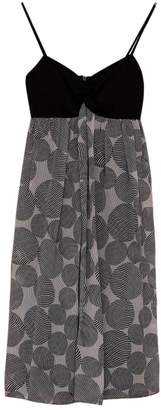 Maggy London Multicolour Silk Dress for Women
