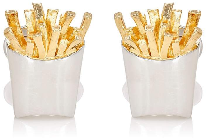 Jan Leslie Men's French-Fries Cufflinks