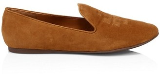 Tory Burch Ruby Suede Smoing Slippers