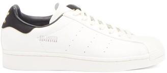 adidas Superstar Logo-stamped Nubuck Trainers - White