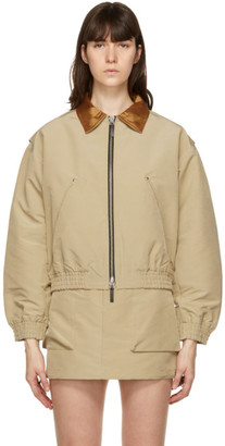 ANDERSSON BELL Beige Contrast Mica Jacket