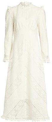 Zimmermann Brighton Panelled Lace Dress