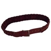 Max Mara Large brown belt