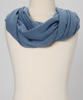 Erge Heather Blue Scarf - Girls