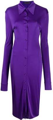 Kwaidan Editions Button-Down Fitted Dress