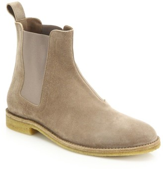 Bottega Veneta Suede Chelsea Boots