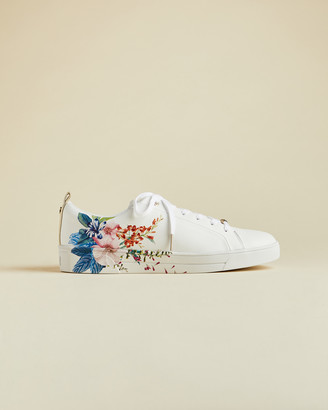 Ted Baker JAAMA Jamboree print leather trainers