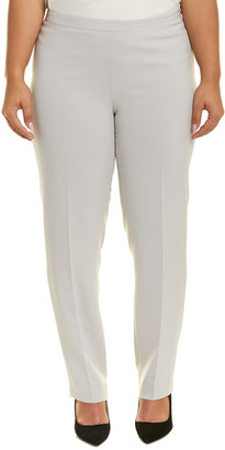 Lafayette 148 New York Plus Side-Zip Ankle Pant