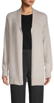 67896e9301 Saks Fifth Avenue Textured Cashmere Open Front Cardigan