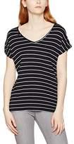 Teddy Smith Women's Teyla Striped Short Sleeve T-Shirt