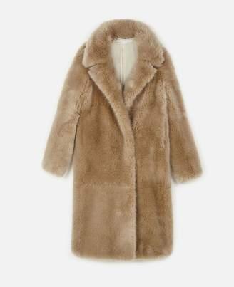 Stella McCartney blinman fur free fur coat
