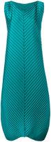 Issey Miyake long pleated dress