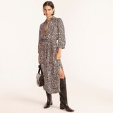 Thumbnail for your product : J.Crew Tie-waist shirtdress in fall garden floral