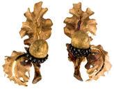 Buccellati 18K Acorn Earrings