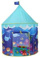Onway Children Play Tent Girls Princess Castle Lightweight and Portable 100% Safe Playhouse for Kids, Circus tent