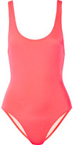 Solid and Striped - The Anne-marie Swimsuit - Bright pink