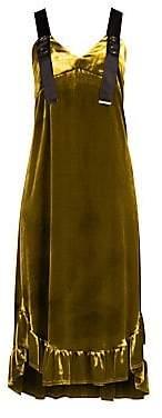 Mother of Pearl Women's Florence Velvet Dress