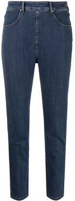 Katharine Hamnett Organic Stretch-Cotton Side-Zip Jeans