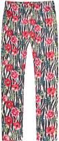 Richie House Girls' Patterned Stretchy Legging Pants RH0704-L-7/8