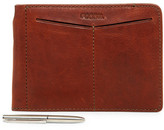 Fossil Slim Leather Passport Sleeve