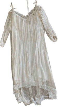Zimmermann White Silk Dresses
