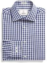 Todd Snyder White Label Dress Shirt in Navy Bold Gingham
