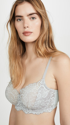 Natori Calm Cotton Unlined Underwire Bra