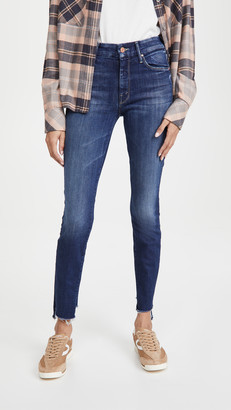 Mother The Looker Two Step Fray Jeans