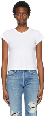 Citizens of Humanity White Slim Juliette T-Shirt