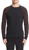Rag & Bone Men's Colorblock Raglan Sleeve Sweatshirt