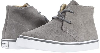 Janie and Jack Chukkah Sneaker (Toddler/Little Kid/Big Kid) (Grey) Boy's Shoes