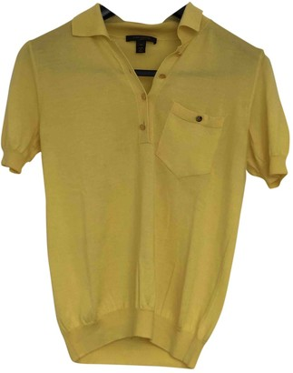 Louis Vuitton Yellow Cashmere Top for Women