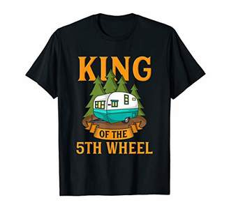 Camper Mens Trailer RV Camping T-Shirt