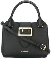 Burberry gold-tone hardware tote - women - Cotton/Calf Leather/Polyamide - One Size