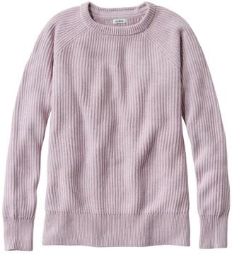 L.L. Bean Women's Coastal Cotton Sweater, Pullover