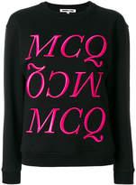 McQ Felpa logo jumper