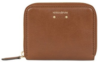 Vanessa Bruno Small crinkled Leather Holly wallet