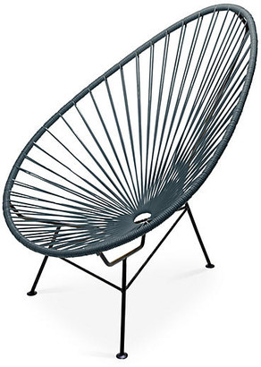 Mexa Acapulco Lounge Chair - Stone Gray