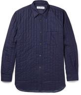 Comme Des Garçons Shirt - Slim-fit Quilted Cotton Shirt
