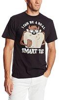 Looney Tunes Men's Smart Taz T-Shirt