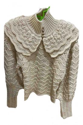 Zimmermann Ecru Wool Knitwear