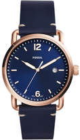 Fossil The Commuter Blue Watch