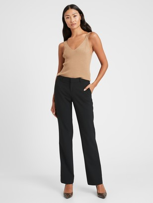 Banana Republic Logan Trouser-Fit Washable Wool-Blend Pant